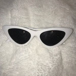 Urban Outfitters White Fashion Glasses